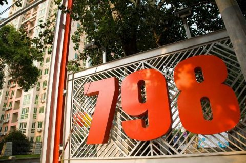Beijing's 798 kunstdistrikt