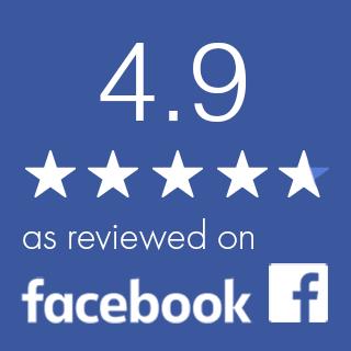 Vurdering: 4.9 av 5 på facebook