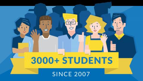 Gruppebilde, LTL har hatt over 3000 elever fra alle verdenshjørner