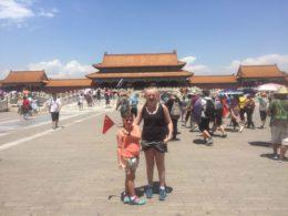 Visiting the Forbidden City in Beijing