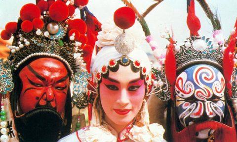 Tradisjonelle Beijing opera masker