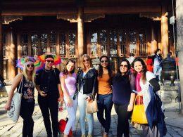Beijing students exploring China