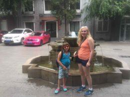 The Chabowski family exploring China