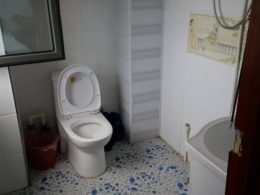 Typical Chengde Homestay Bathroom