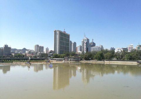 Utsikt over byen Chengde
