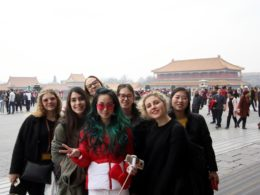 Exploring Beijing - Our Italian high school students in 2018