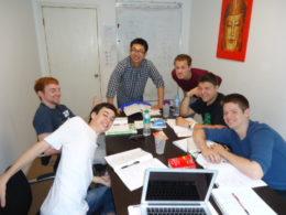 Gruppeundervisning hos LTL Beijing