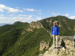 Day trip hiking in China