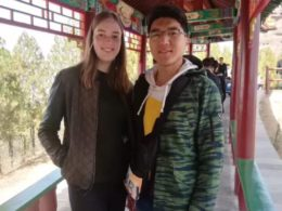 Mixing with the locals in Chengde