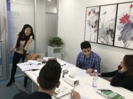 Small Group Chinese class in Shanghai