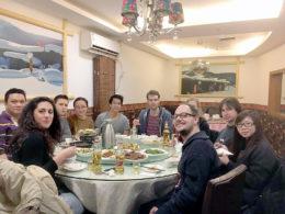 Ukentlig middag på onsdager hos LTL Shanghai