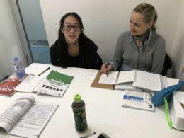 Undervisning hos LTL Shanghai
