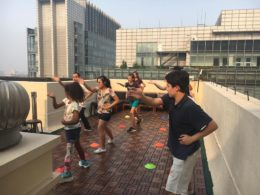 Activities on the Beijing Rooftop