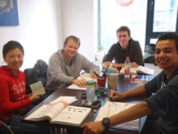 Gruppeundervisning i Shanghai