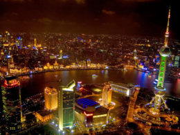 The Bund in Shanghai at night - A sublime setting
