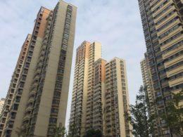 Boligblokkene i Shanghai