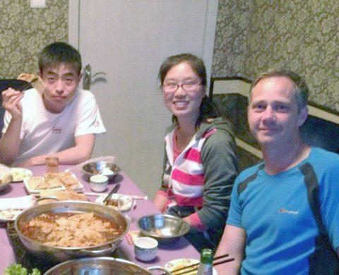 Middag hos vertsfamilie - hot pot