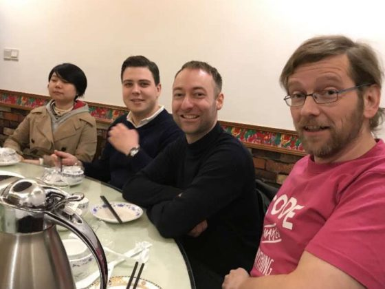 Time for Dinner in Shanghai